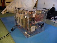 TIM-8 Computadora de 8 bits de reles
